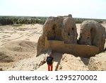 in africa sudan kerma the... | Shutterstock . vector #1295270002