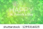 template design banner for st.... | Shutterstock .eps vector #1295316025