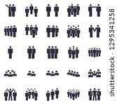 groups of persons icon.... | Shutterstock .eps vector #1295341258