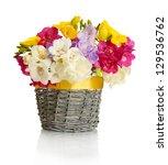 Beautiful Bouquet Of Freesias...