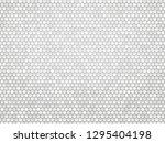 gray metal hexagon background | Shutterstock .eps vector #1295404198