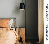 modern nordic scandinavian... | Shutterstock . vector #1295457352