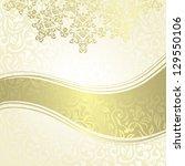 vintage damask seamless...   Shutterstock .eps vector #129550106