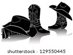 Cowboy Boots And Western Hats...