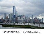 jersey city new jersey usa   13 ... | Shutterstock . vector #1295623618