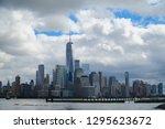 jersey city new jersey usa   13 ... | Shutterstock . vector #1295623672