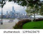 jersey city new jersey usa   13 ... | Shutterstock . vector #1295623675