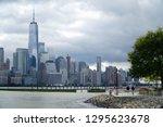 jersey city new jersey usa   13 ... | Shutterstock . vector #1295623678