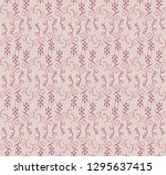 seamless decorative pattern... | Shutterstock .eps vector #1295637415