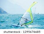 Windsurfing On Lake Garda....