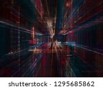 abstract background. digital... | Shutterstock . vector #1295685862
