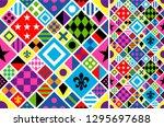 Stock vector print jockey uniform traditional design clothes uniforms jacket horse riding horse racing 1295697688