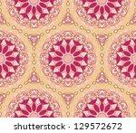 seamless floral pattern... | Shutterstock .eps vector #129572672
