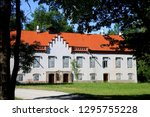 historical castle in the... | Shutterstock . vector #1295755228