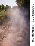 dusty sandy road   Shutterstock . vector #1295800072