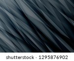 black geometric vector... | Shutterstock .eps vector #1295876902