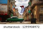 cuba  havana   january 16  2019 ...   Shutterstock . vector #1295908972