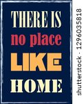 there is no place like home....   Shutterstock .eps vector #1296035818
