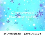 christmas texture with lovely... | Shutterstock .eps vector #1296091195