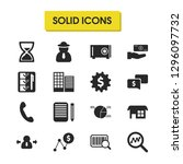 work icons set with setting...