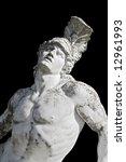 Achilles Statue Detail Ready...
