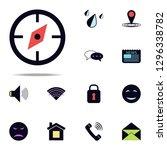 compass icon. web icons...
