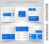 medical templates for tri fold... | Shutterstock .eps vector #1296345358