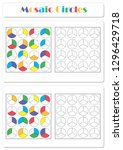 collect the correct sequence of ... | Shutterstock . vector #1296429718