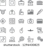 thin line icon set   baby room... | Shutterstock .eps vector #1296430825