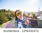 travel and holidays concept  ... | Shutterstock . vector #1296432472
