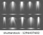 spotlight light. projection... | Shutterstock .eps vector #1296437602
