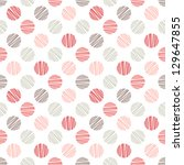 Seamless Pattern. Stylish Polk...