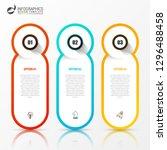 infographic design template....   Shutterstock .eps vector #1296488458
