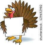 A Silly Turkey With Crazy Eyes...