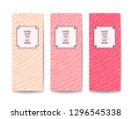 fashion stylish banner with... | Shutterstock .eps vector #1296545338