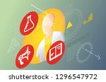 applied research illustration... | Shutterstock .eps vector #1296547972