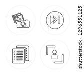 4 line picture  list  next ... | Shutterstock .eps vector #1296551125
