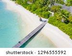 aerial photo of beautiful... | Shutterstock . vector #1296555592