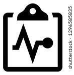 health wellness checkup vector... | Shutterstock .eps vector #1296585835