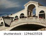 lantern indicating a gondola...   Shutterstock . vector #1296625528