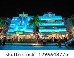 usa. florida. miami beach 2019  ... | Shutterstock . vector #1296648775