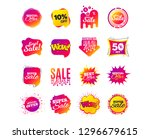 sale banner templates design.... | Shutterstock .eps vector #1296679615