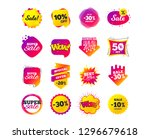 sale banner templates design.... | Shutterstock .eps vector #1296679618