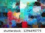 a brightly colored abstract... | Shutterstock . vector #1296690775