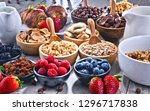 composition with different... | Shutterstock . vector #1296717838