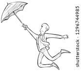 vector illustration of... | Shutterstock .eps vector #1296744985