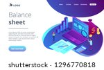 financial analysts with...   Shutterstock .eps vector #1296770818