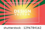 abstract gradient cover... | Shutterstock .eps vector #1296784162