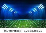 american football arena field... | Shutterstock .eps vector #1296835822