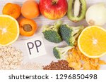 nutritious natural ingredients... | Shutterstock . vector #1296850498